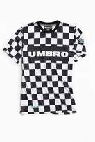 Umbro X House Of Holland Black + White Checkered Football Jersey