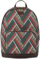 Gucci Gg Chevron Backpack