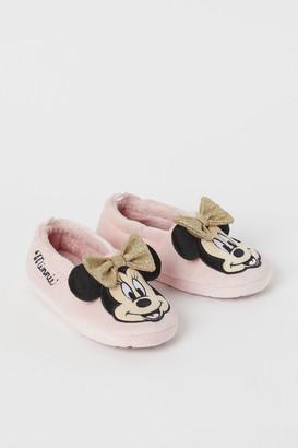 H&M Soft Velour Slippers