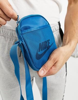 Nike Heritage bum bag in teal