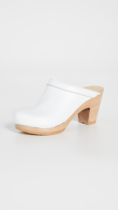 NO.6 STORE Old School High Heel Clogs