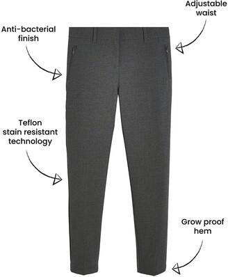 Very Girls 2 Pack Skinny School Trousers - Grey