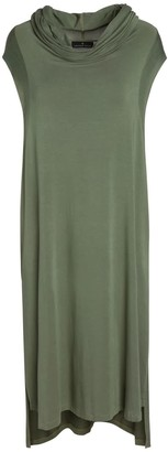 Lâcher Prise Apparel Echape Long Top Dress Olive Green