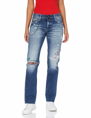 Replay Women's Ilariya Straight Jeans