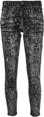 Amiri Laser Snake Stack skinny jeans