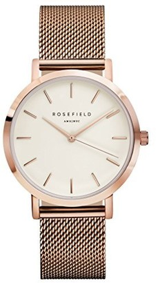 ROSEFIELD Womens Chronograph Quartz Watch with Stainless Steel Strap MWRM42