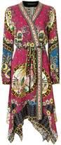 Etro printed handkerchief dress