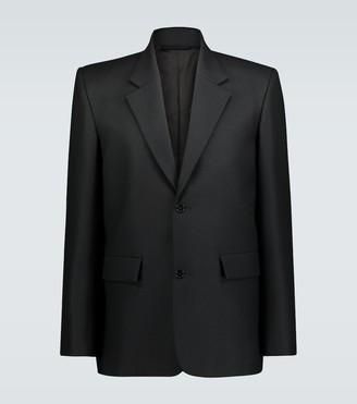 Balenciaga Seamless single-breasted blazer