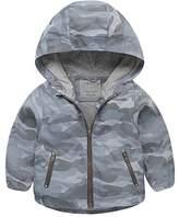 Right Euro Boys Raincoat Hooded Jacket Lightweight Windproof Waterproof Coat Outdoor Light Hoodies Windbreaker Size 2-3