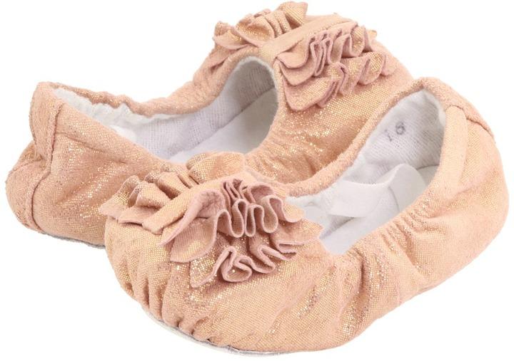 Bloch Baby Ruffle (Infant/Toddler) (Perla) - Footwear