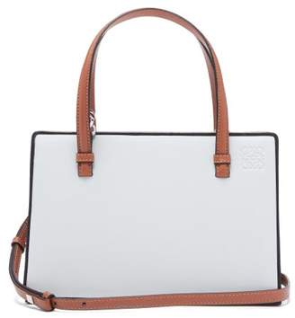 Loewe Postal Leather Bag - Womens - White Multi
