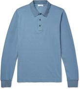 Boglioli Slim-Fit Cotton-Piqué Polo Shirt