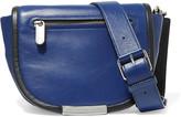 Marc by Marc Jacobs Luna glossed-leather shoulder bag