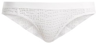 Negative Underwear Essaouira Mesh Briefs - Womens - White