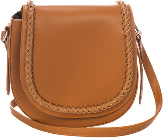 Italian Leather Giulia Massari Leather Crossbody