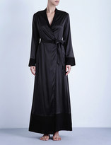 La Perla Silk essence long stretch-silk robe