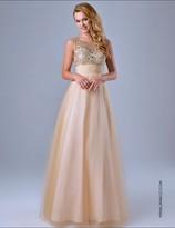 Nina Canacci - 8037 Dress in Nude
