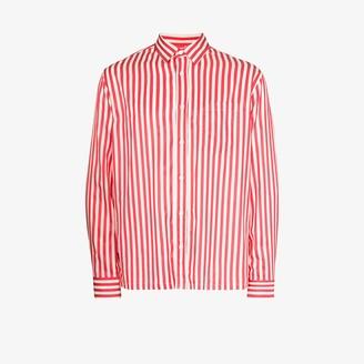 Sunflower Striped button-down shirt