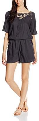 Vila Women's 037020 Straight Leg Playsuits - Grey