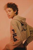 Fila + UO Basketball Cropped Hoodie Sweatshirt