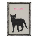Sale - Meow Poster 29.7 x 42cm - The prints by Marke Newton