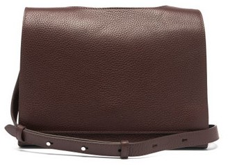 Aesther Ekme Messenger Grained-leather Cross-body Bag - Brown