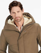 Lucky Brand Sherpa Hooded Puffy Jacket