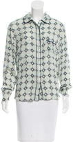 Piamita Silk Printed Blouse