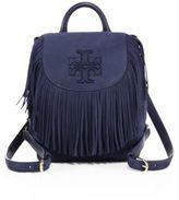 Tory Burch Harper Fringe Mini Leather Backpack