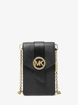 MICHAEL Michael Kors Small Saffiano Leather Smartphone Crossbody Bag