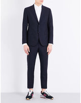 United Arrows Regular-fit wool and mohair-blend suit