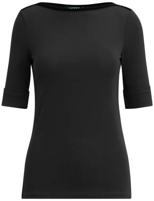 Ralph Lauren Elbow-Length-Sleeve Top
