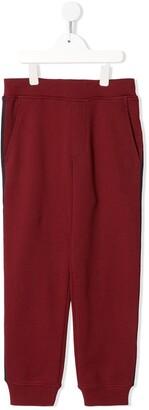 Emporio Armani Kids Logo-Print Track Trousers