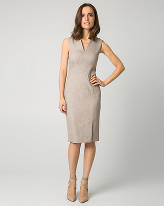 Le Château Stretch Viscose Blend Shift Dress