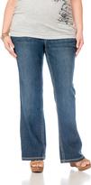 Motherhood Plus Size Secret Fit Belly® Boot Cut Maternity Jean