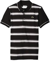 Lacoste Mens Sport Golf Short sleeve Striped super Light Polo Shirt