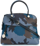 Furla Piper camouflage print tote - women - Calf Leather - One Size