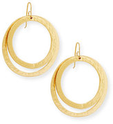 Stephanie Kantis Paris Double Round Large Drop Earrings