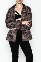 Timeless Camo Windbreaker Jacket