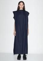 Y's Linen & Cupro Scarf Dress