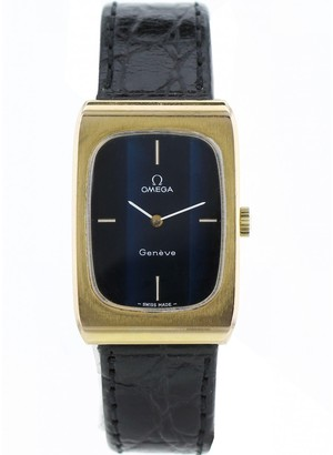 Omega Black Gold plated Watches
