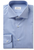 Brioni - Blue Cotton Shirt
