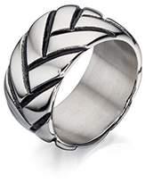 Fred Bennett Stainless Steel Tyre Design Ring - Size X