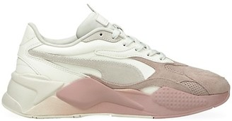 Puma Women's RS-X Colorblock Suede Sneakers