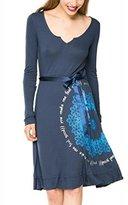 Desigual Women's Dress CAROLINA - , L