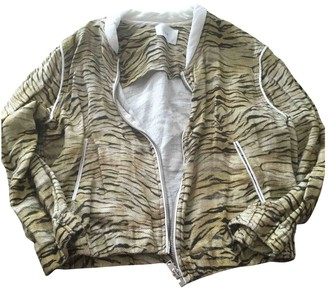 IRO Brown Linen Leather jackets
