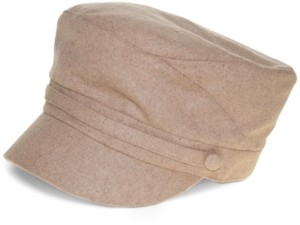 Nine West Wool Blend Newsboy Cap