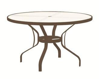 Tropitone Banchetto Glass Dining Table Tropitone