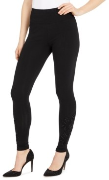 INC International Concepts Inc Floral-Applique Leggings, Created for Macy's