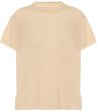 Ryan Roche Cashmere and silk knit top